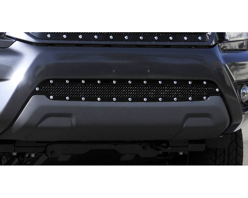 2012-2015 Tacoma X-Metal Bumper Grille, Black, 1 Pc, Overlay, Chrome Studs - PN #6729381