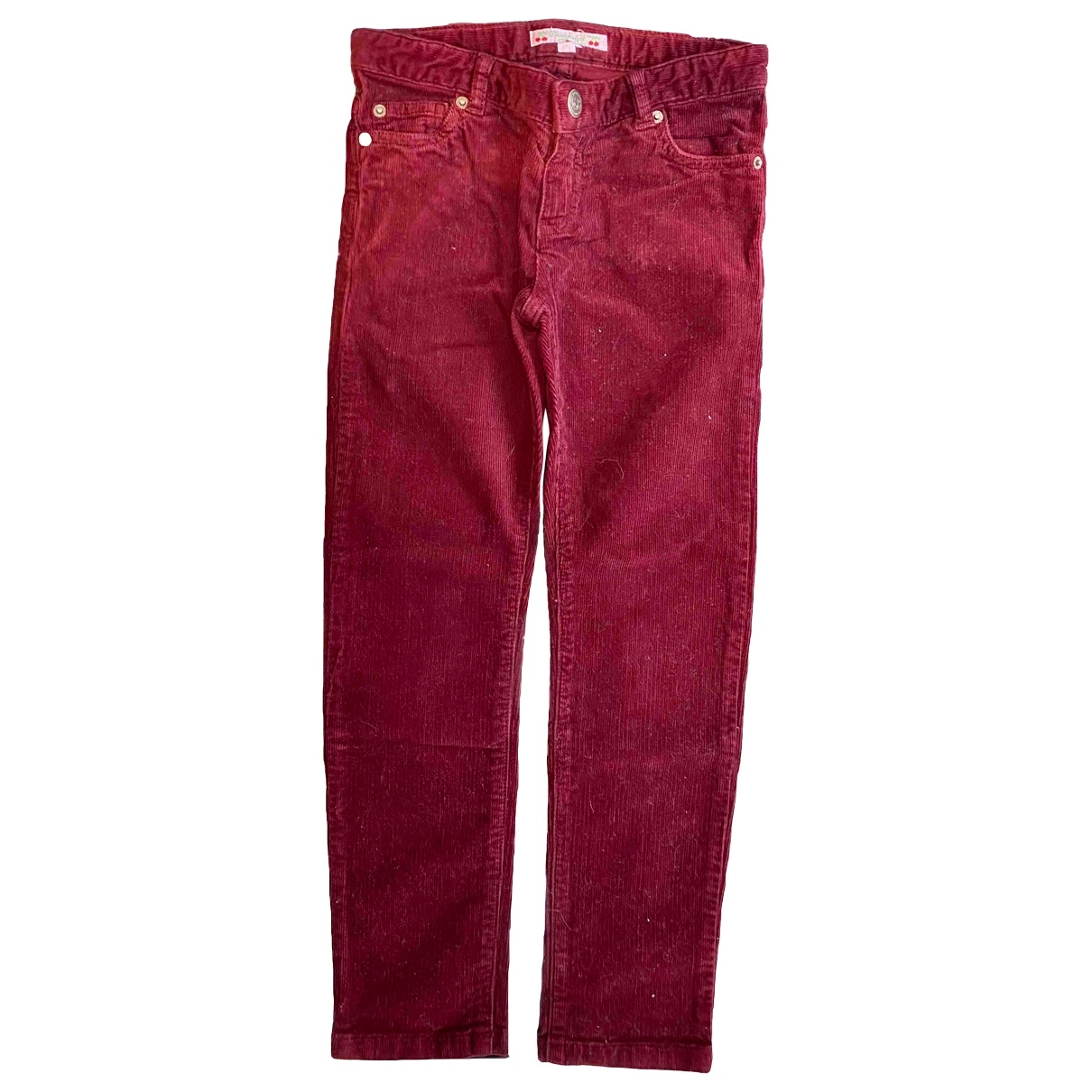 Bonpoint \N Red Denim - Jeans Trousers for Kids 6 years - up to 114cm FR