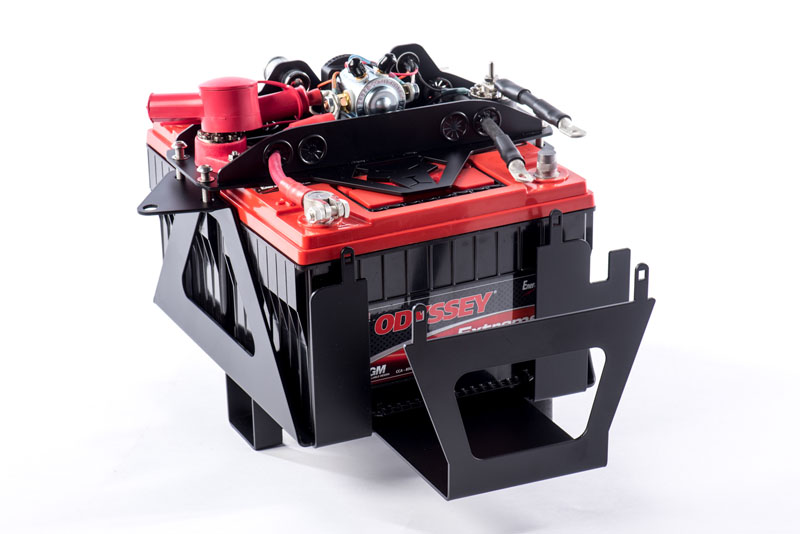 Genesis Offroad GEN-131-JKDBK2A Dual Battery Kit 200 Amp Isolator Wrangler JK Genesis Offroad GEN-131-JKDBK2A 12-18