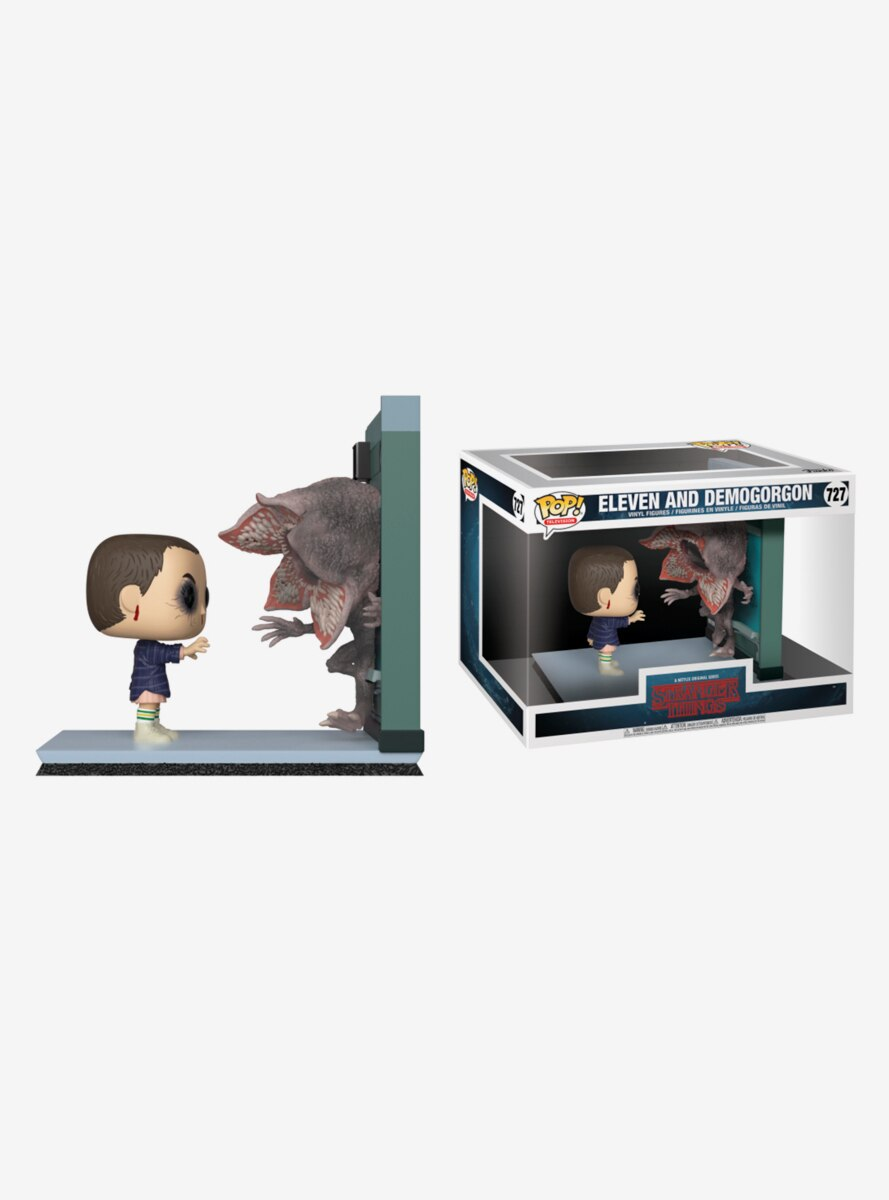 Funko Pop! Movie Moments Stranger Things Eleven & Demogorgon Vinyl Figure Set