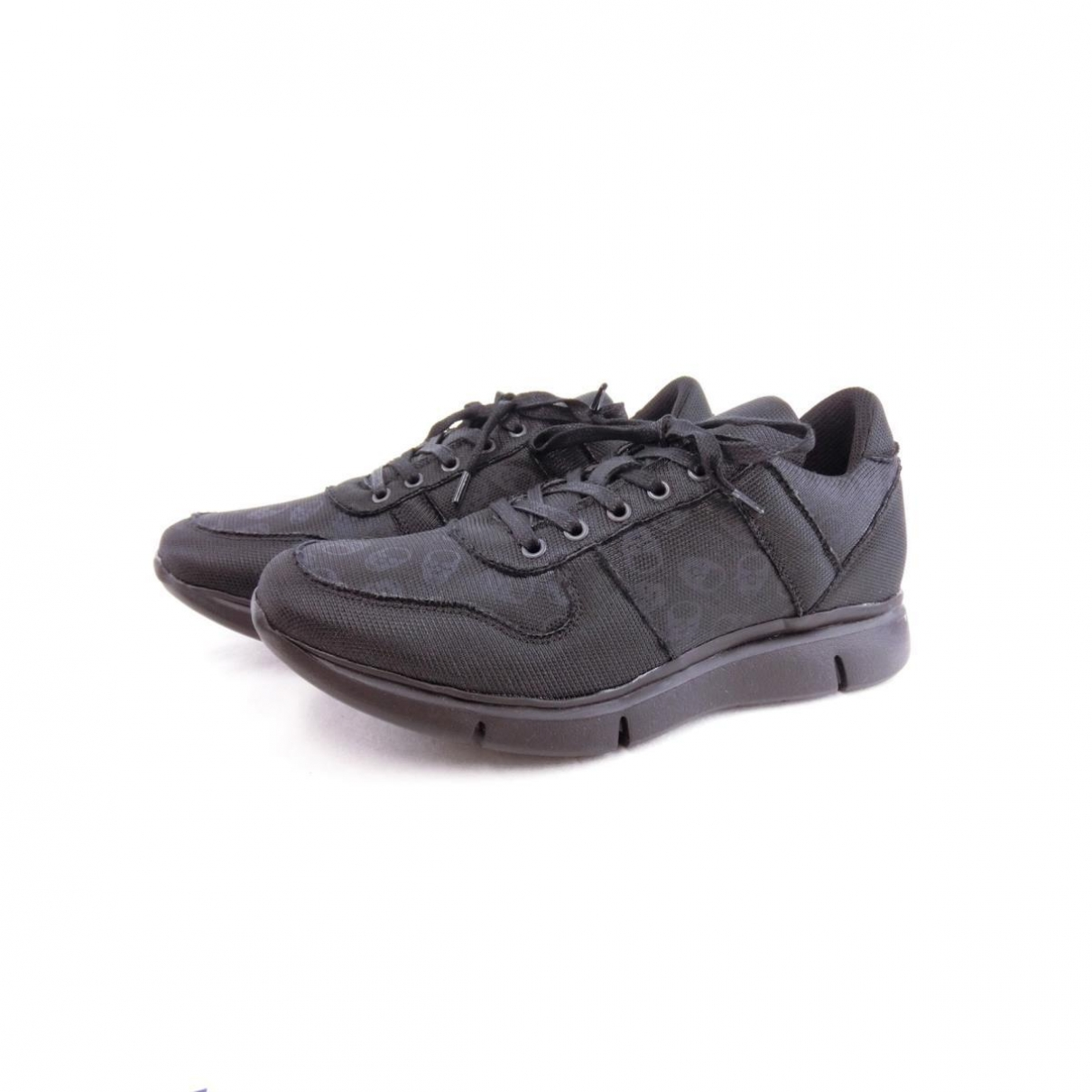 Lucien Pellat Finet \N Black Leather Trainers for Men 41 EU