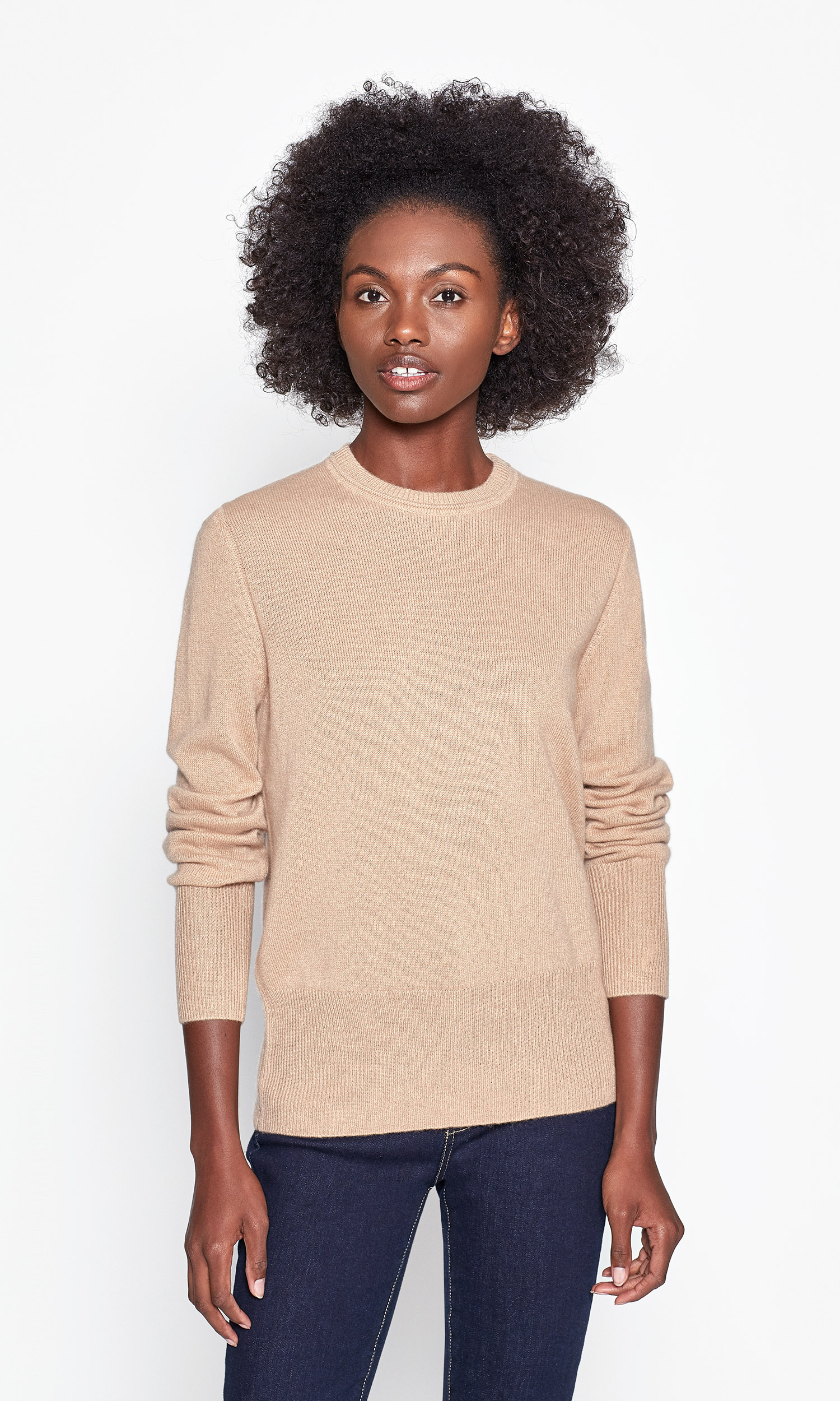 Sanni Cashmere Crew Neck Sweater by Equipment