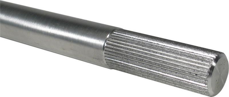 Borgeson 439218 Steering Shaft; 3/4-36 Splined; Aluminum; 18in. Long; 2in. Spline Length