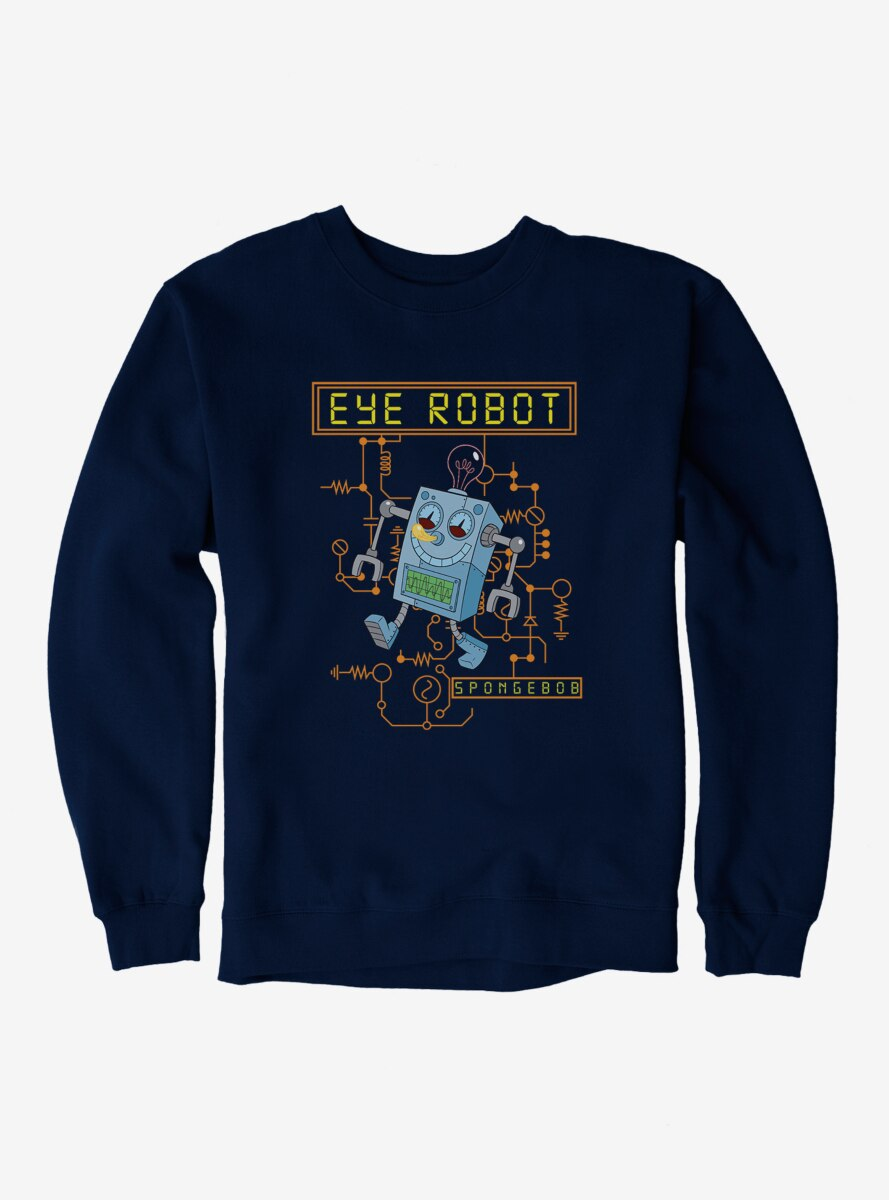 SpongeBob SquarePants Eye Robot Sweatshirt