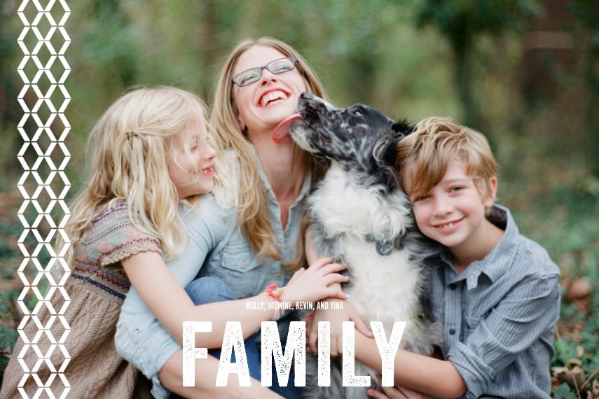 Family + Friends 12x18 Poster, Home Décor -Trellis