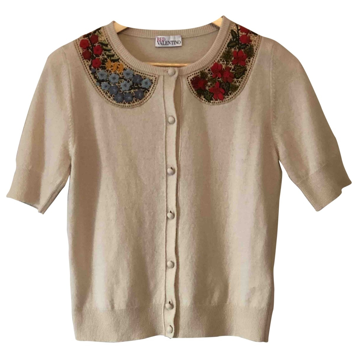 Red Valentino Garavani \N Beige Wool Knitwear for Women M International