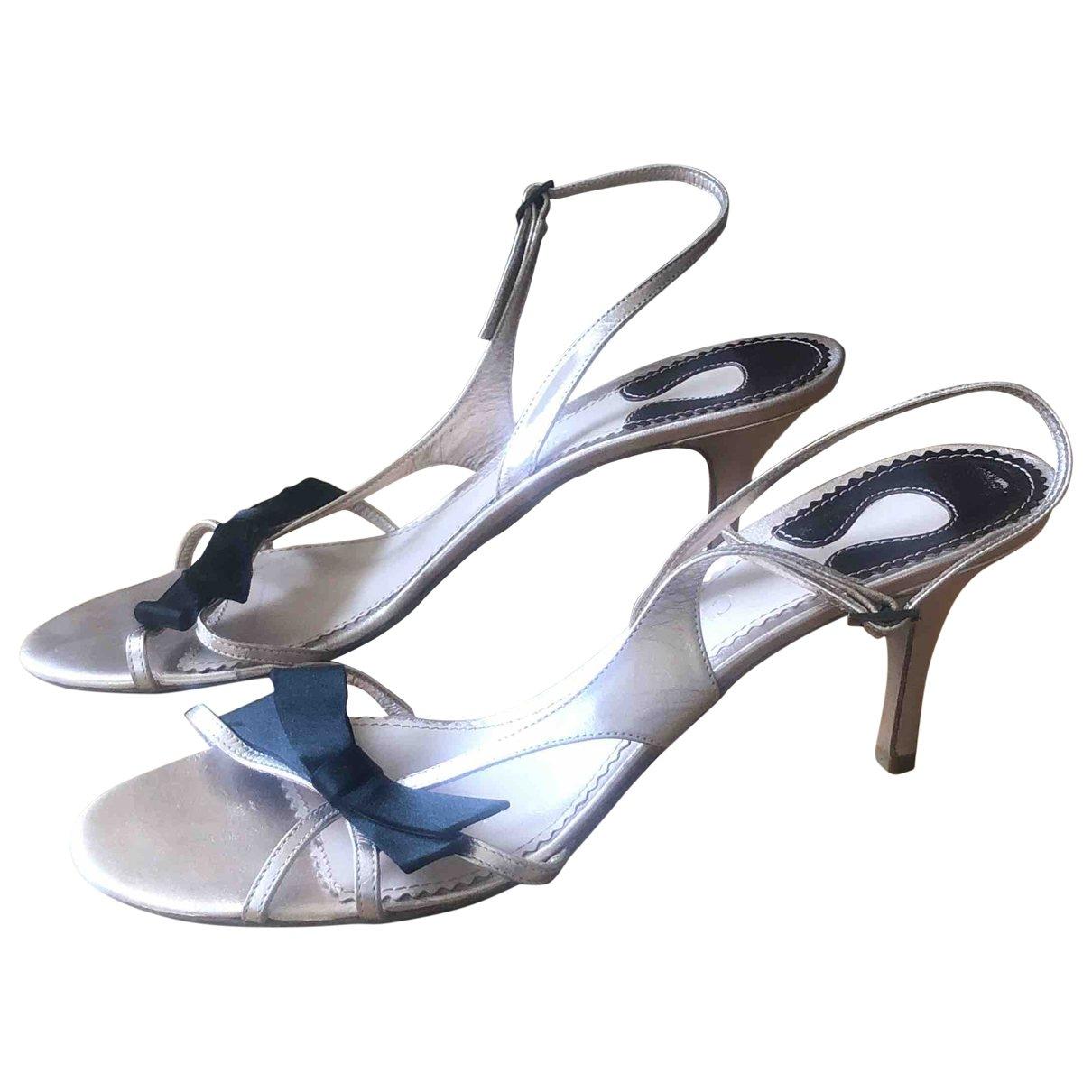 Chloé \N Leather Sandals for Women 39.5 EU