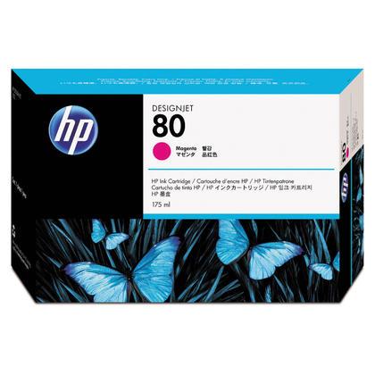 HP 80 C4874A cartouche d'encre originale magenta 175ml