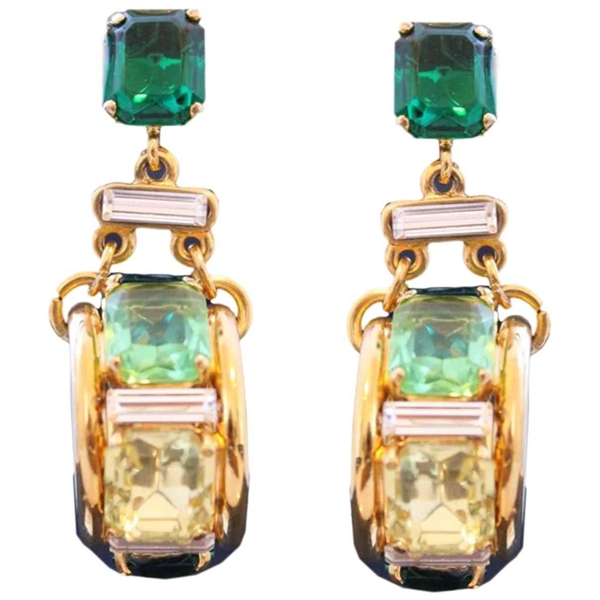 Carlo Zini \N Yellow gold Earrings for Women \N