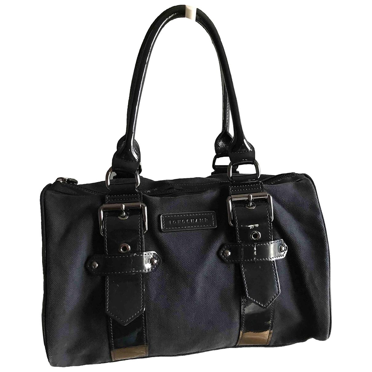 Longchamp Kate Moss Navy Cotton handbag for Women \N