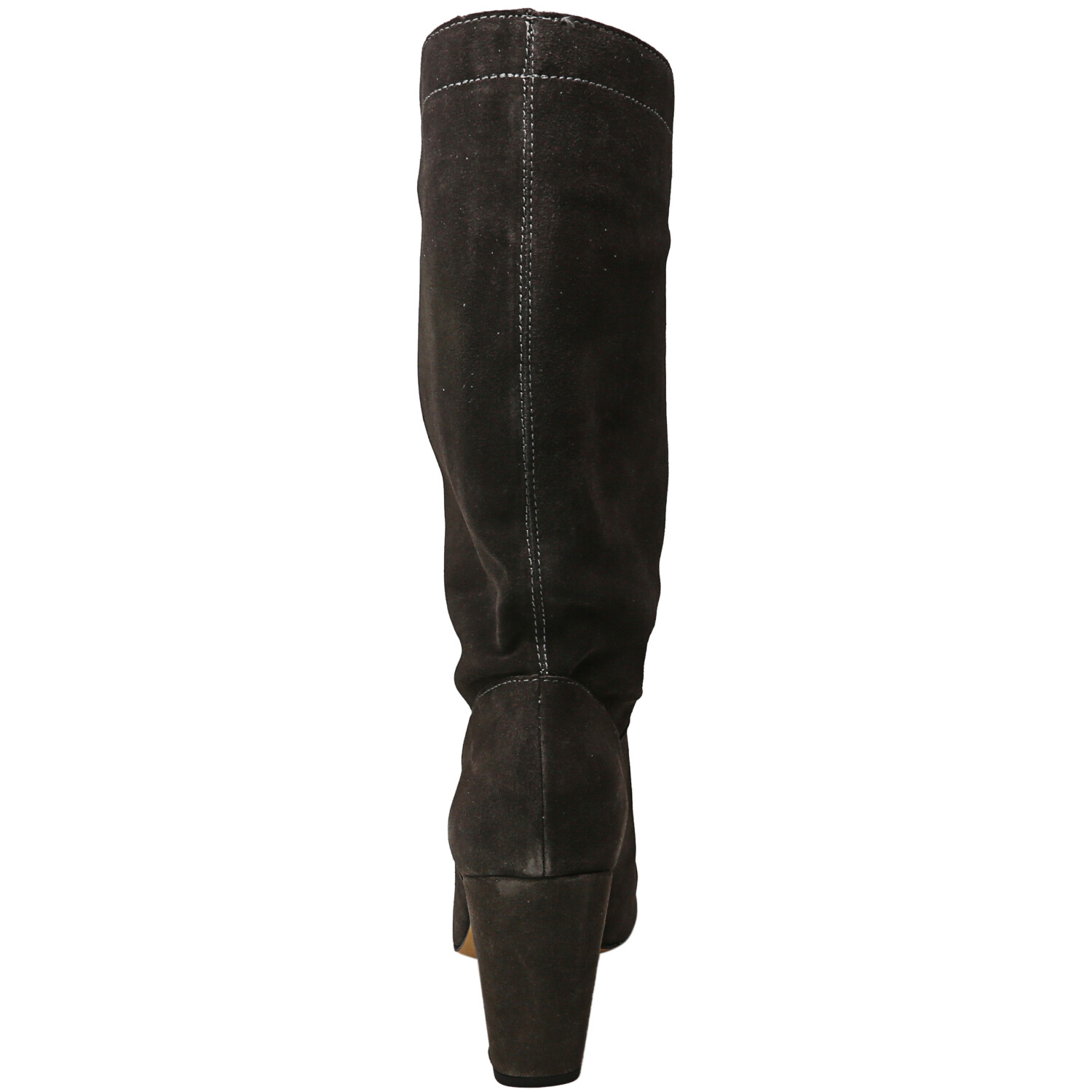 1.State Women's Maribell Portogallo Charcoal Knee-High Suede Boot - 10M