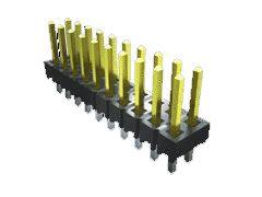 Samtec , TSW, 50 Way, 1 Row, Right Angle PCB Header (1000)