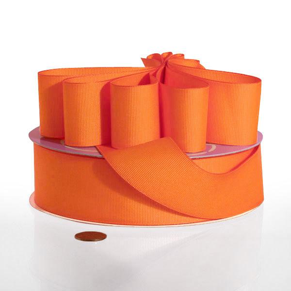 Orange Grosgrain Ribbon 3