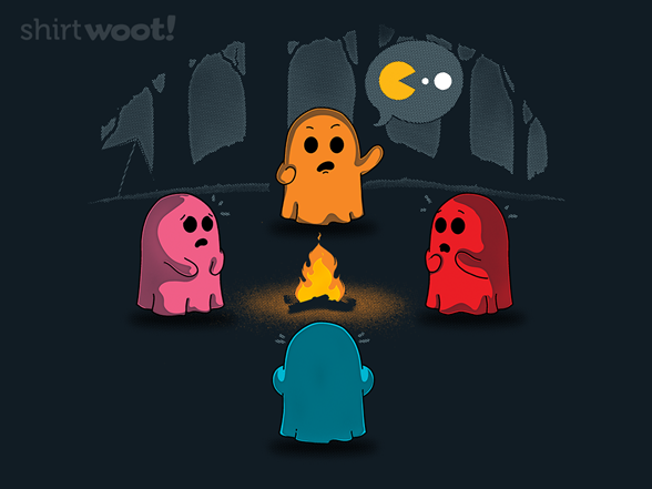 Ghost Stories In The Arcade T Shirt