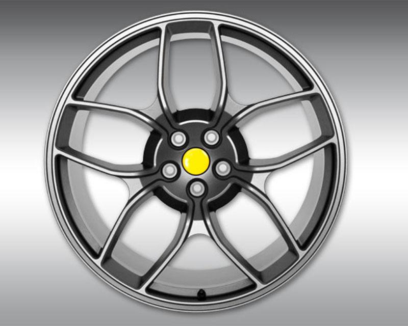 Novitec F4 458 25 NF4 20x12.5 Anthracite Rear 3-Piece Wheel Ferrari Spider 11-15