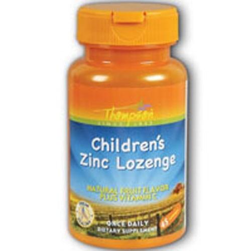 Zinc Children's Lozenge With Vit C Fruit Flavor 45 Loz by Thompson
