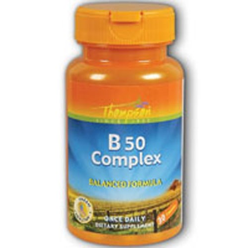 Vitamin B Complex 50 mg 60 Caps by Thompson
