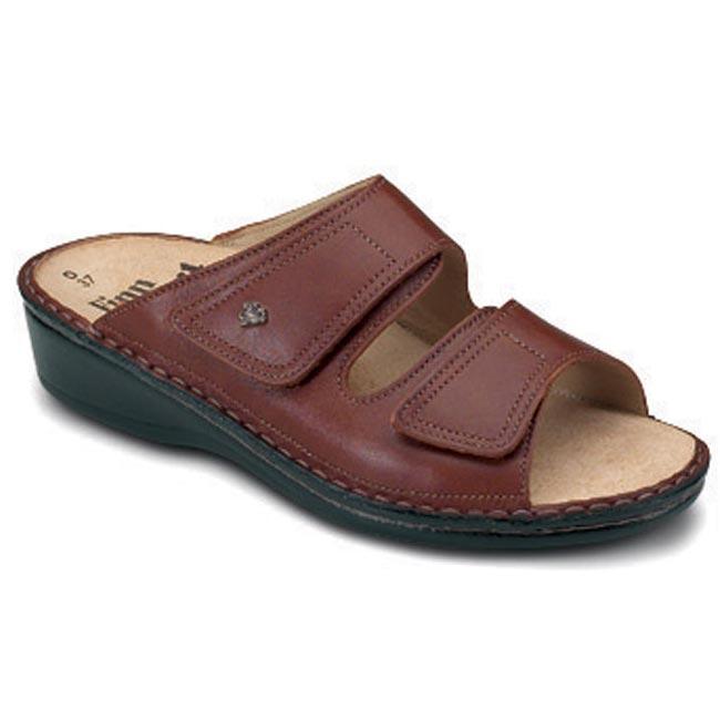 Finn Comfort Jamaica Brandy Leather Soft Footbed 43