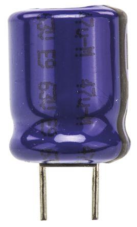 Vishay 47μF Electrolytic Capacitor 63V dc, Through Hole - MAL213668479E3 (5)