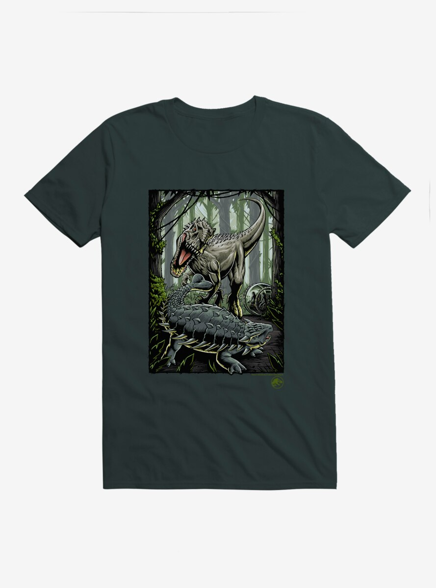 Jurassic World Forest Battle T-Shirt