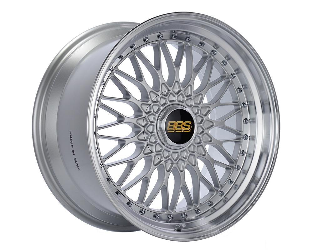 BBS Super RS Wheel 19x10 5x120 20mm Silver | Diamond Cut Rim