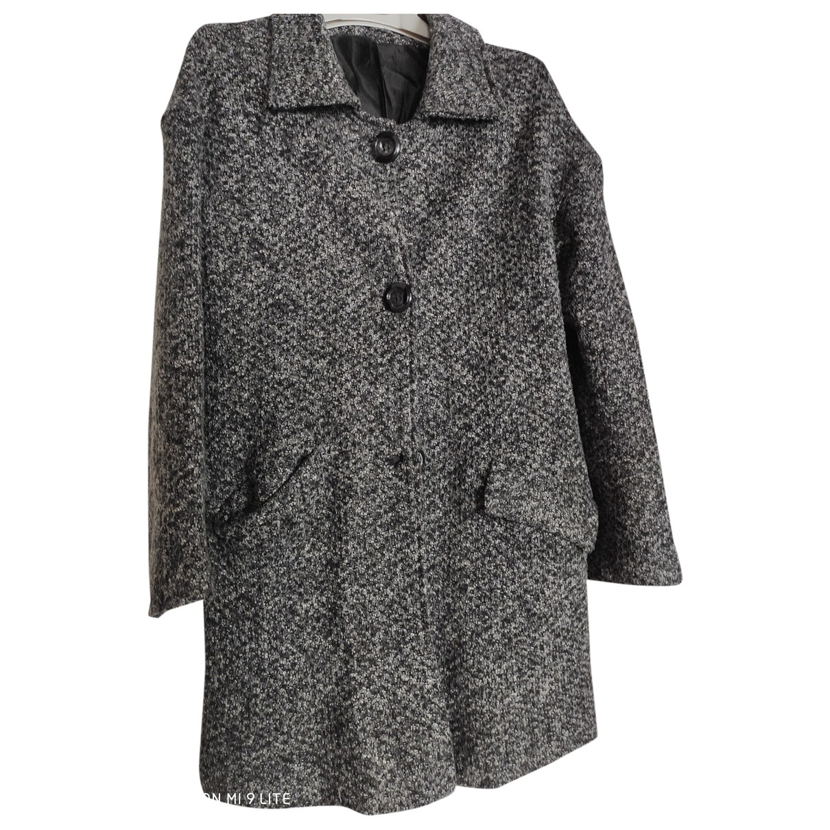 Non Sign?? / Unsigned \N Grey Cotton coat for Women S International