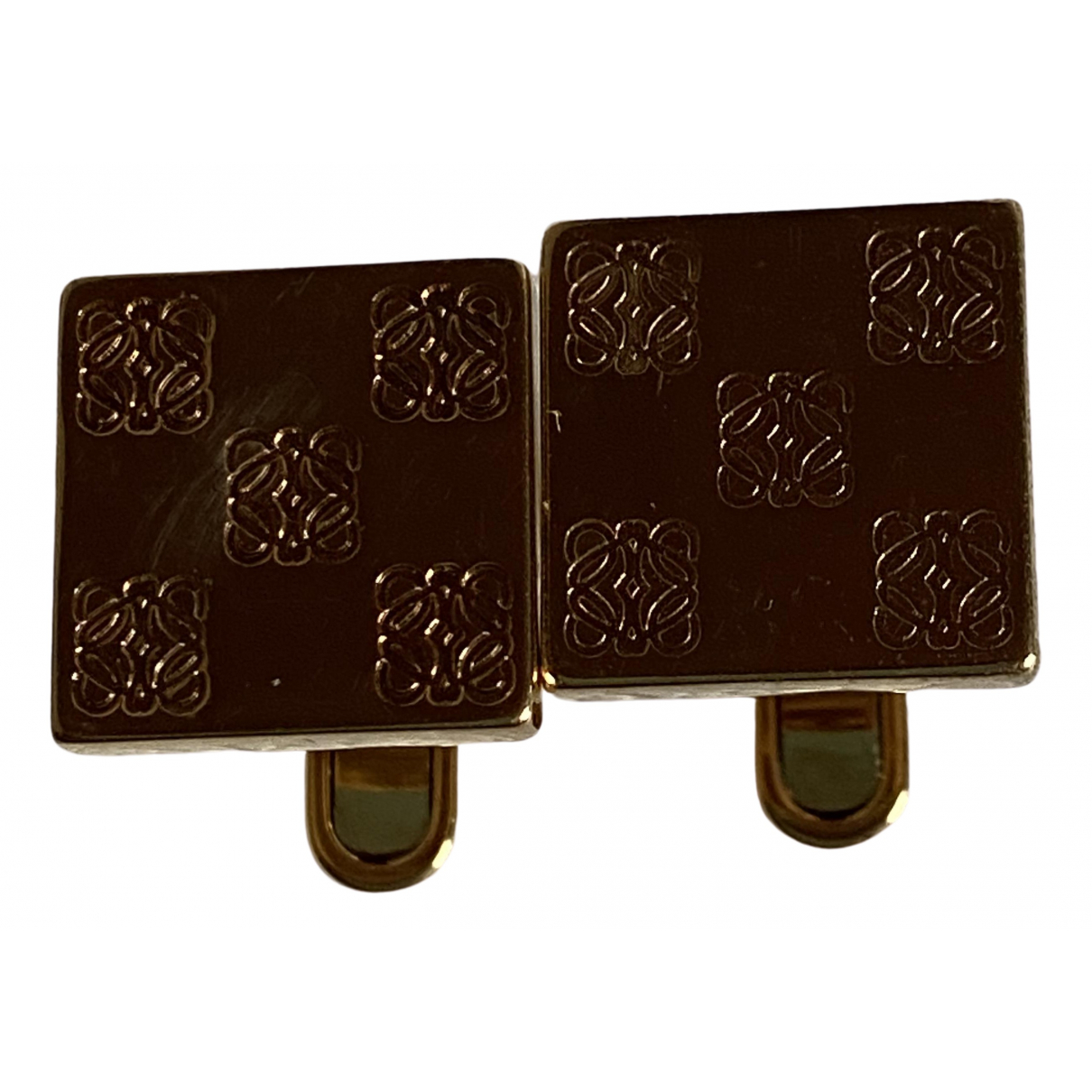 Loewe \N Gold Metal Cufflinks for Men \N