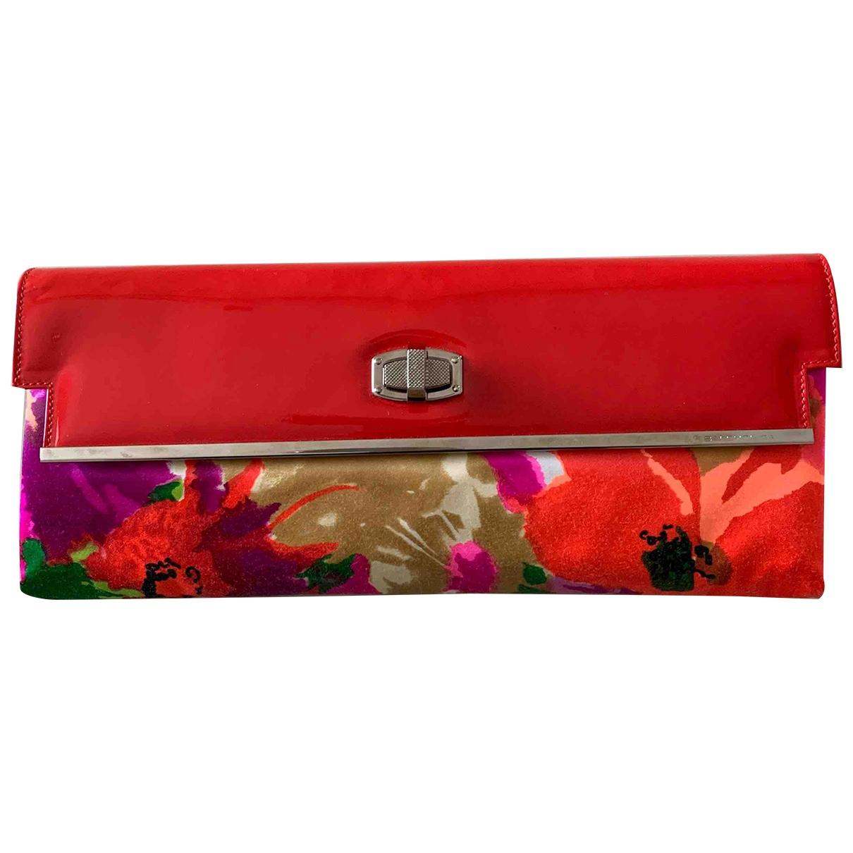 Balenciaga \N Orange Silk Clutch bag for Women \N