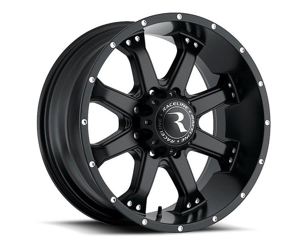 Raceline 991B Assault Satin Black Wheel 16X8 5X127 0mm