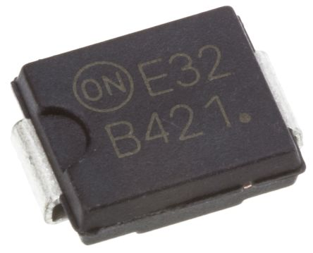 ON Semiconductor ON Semi 200V 4A, Schottky Diode, 2-Pin DO-214AB MBRS4201T3G (2)