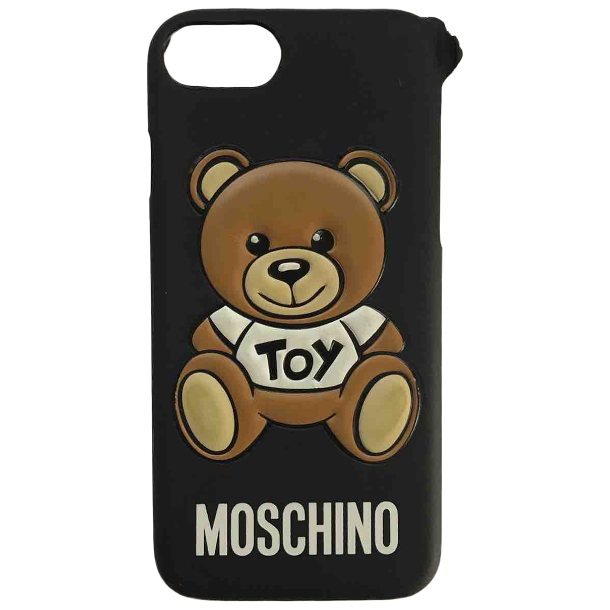 Moschino \N Black Cloth Phone charms for Women \N