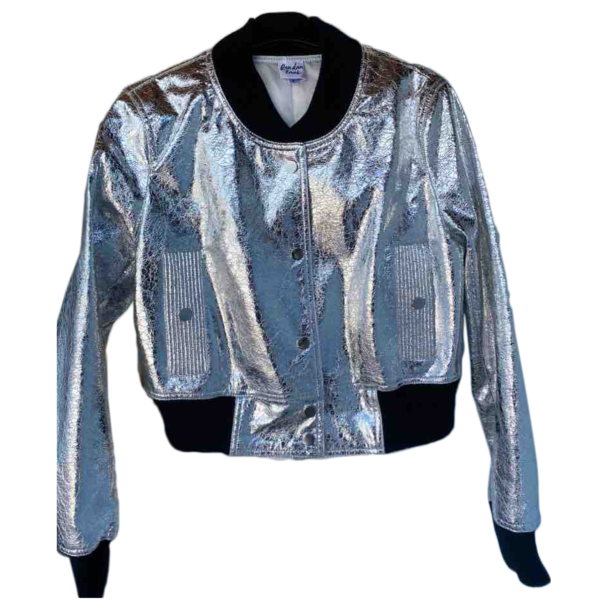 Non Signé / Unsigned \N Metallic jacket for Women S International