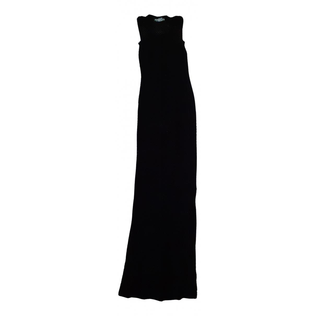 Jeremy Scott \N Black Cotton dress for Women S International
