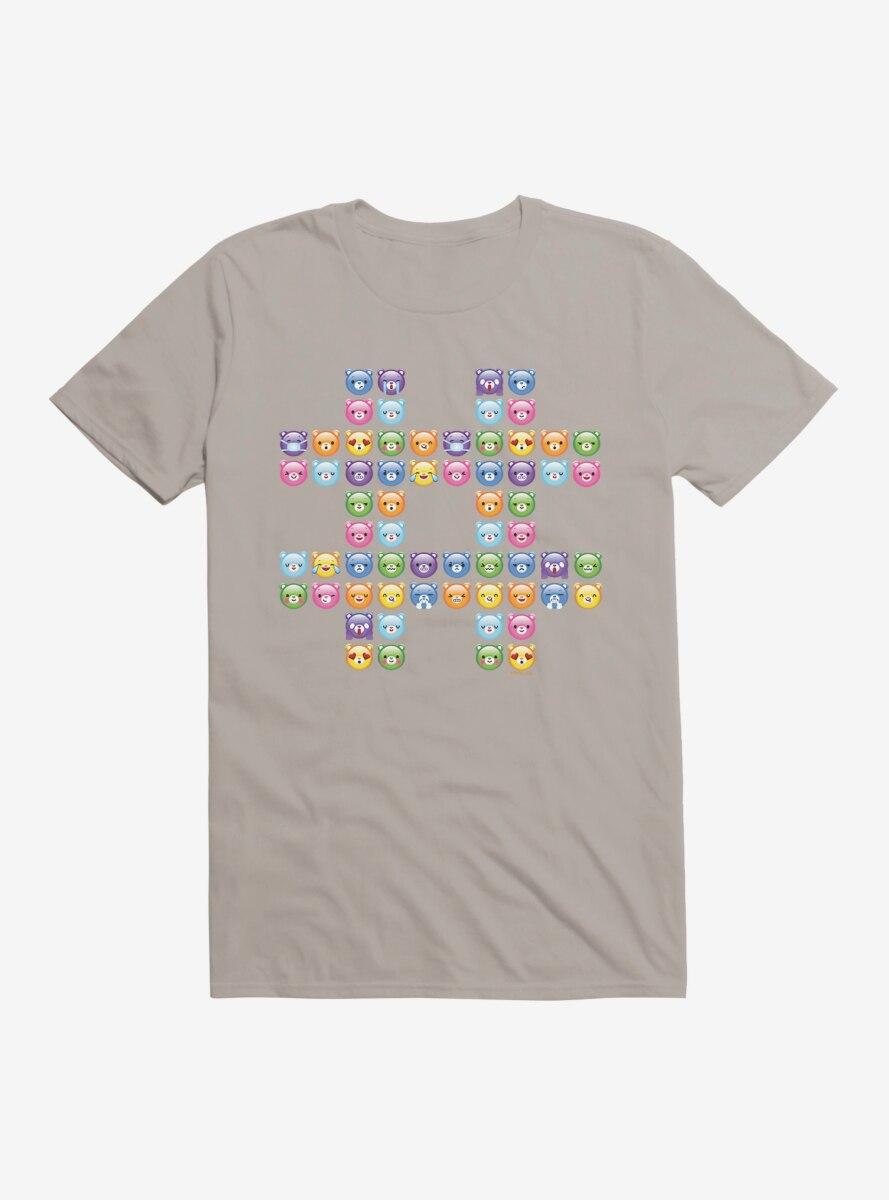 Care Bears Hashtag Icons T-Shirt