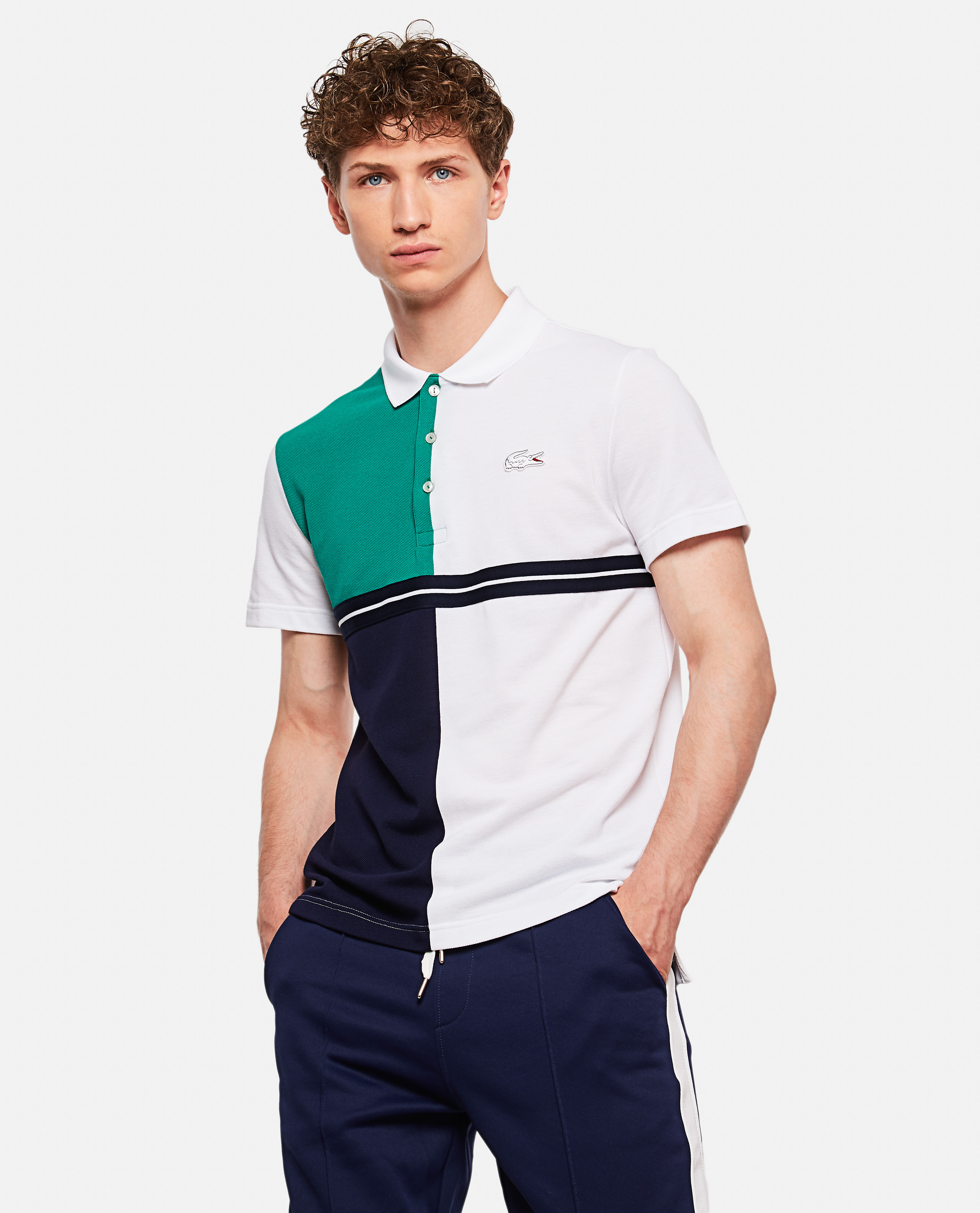 Lacoste X Roland Garros Colored Petit Piqué Polo Shirt