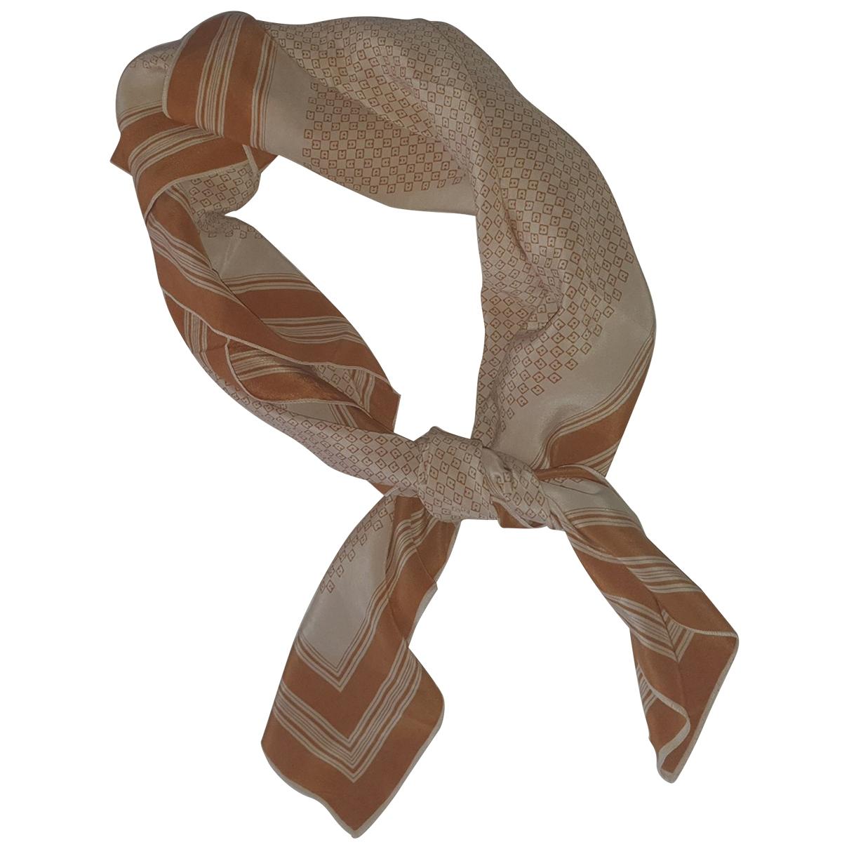 Etienne Aigner \N Brown Silk scarf for Women \N