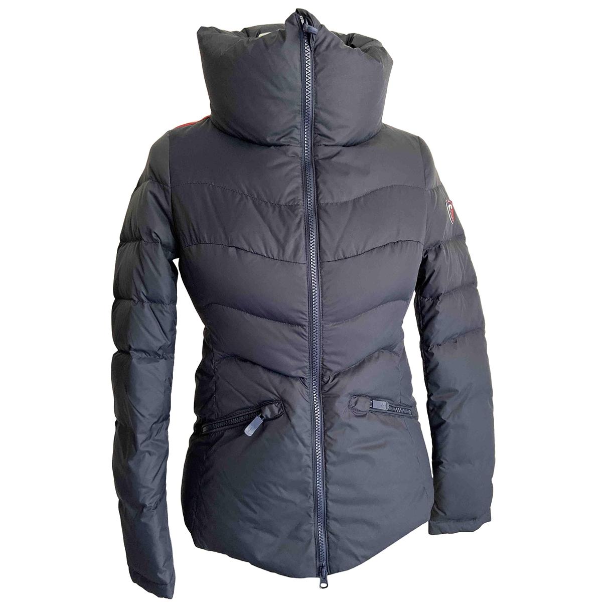 Rossignol \N Navy Leather jacket for Women XS International