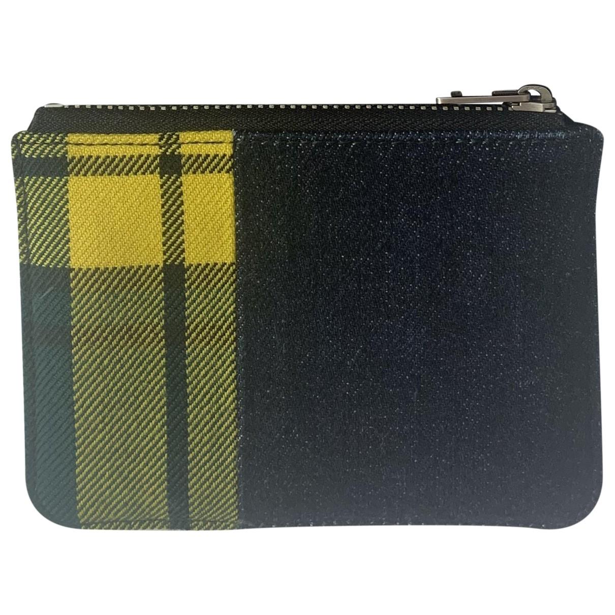 Loewe \N Multicolour Denim - Jeans Small bag, wallet & cases for Men \N