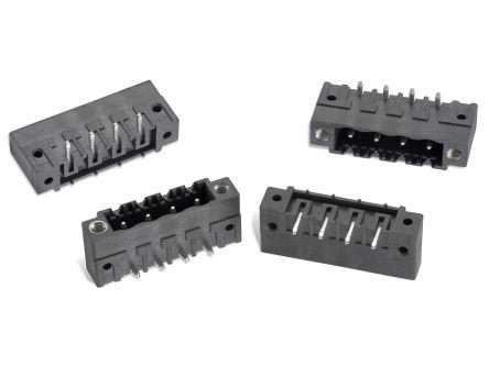 Wurth Elektronik , WR-TBL, 7015B, 5 Way, 1 Row, Horizontal PCB Header (250)
