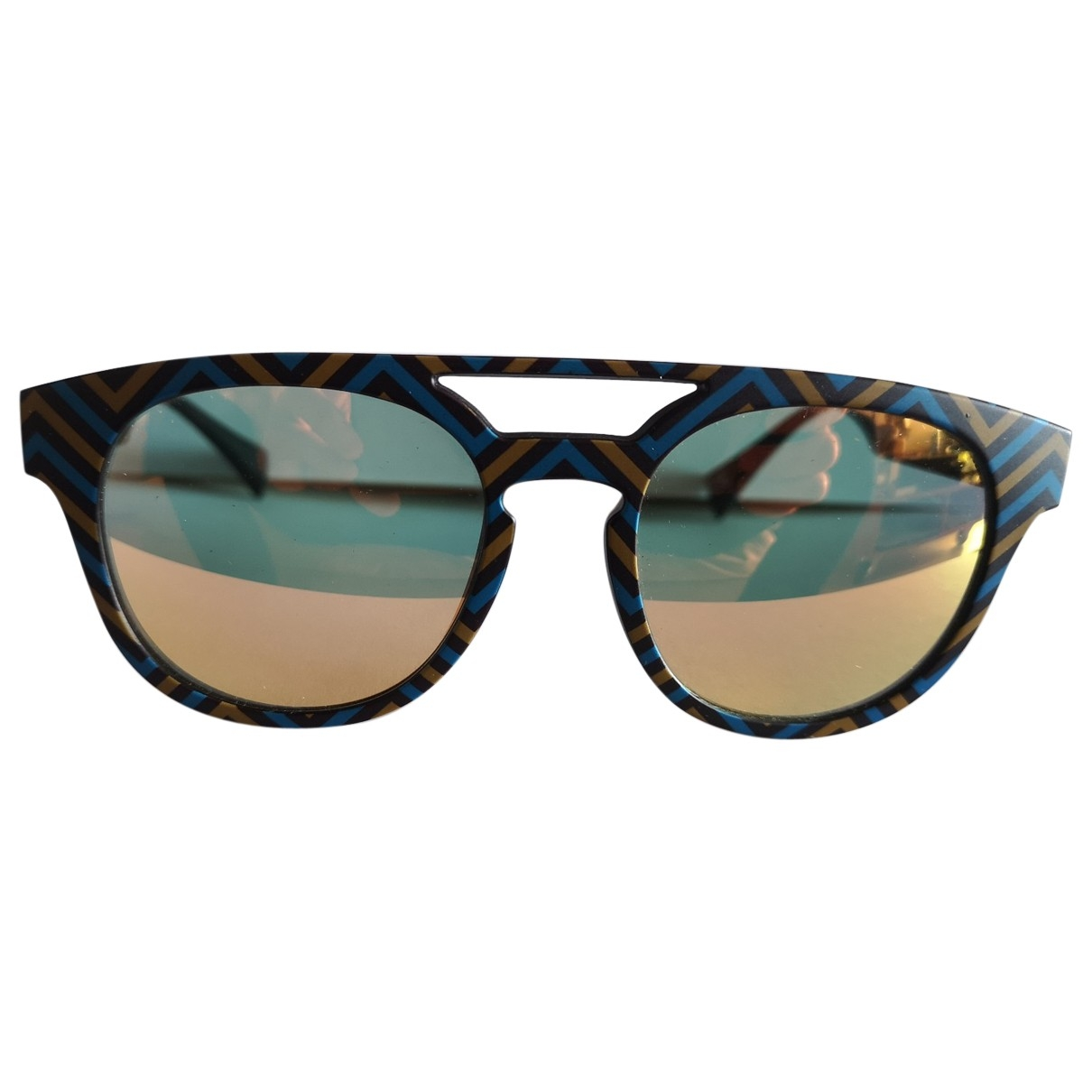 Italia Independent \N Blue Sunglasses for Men \N