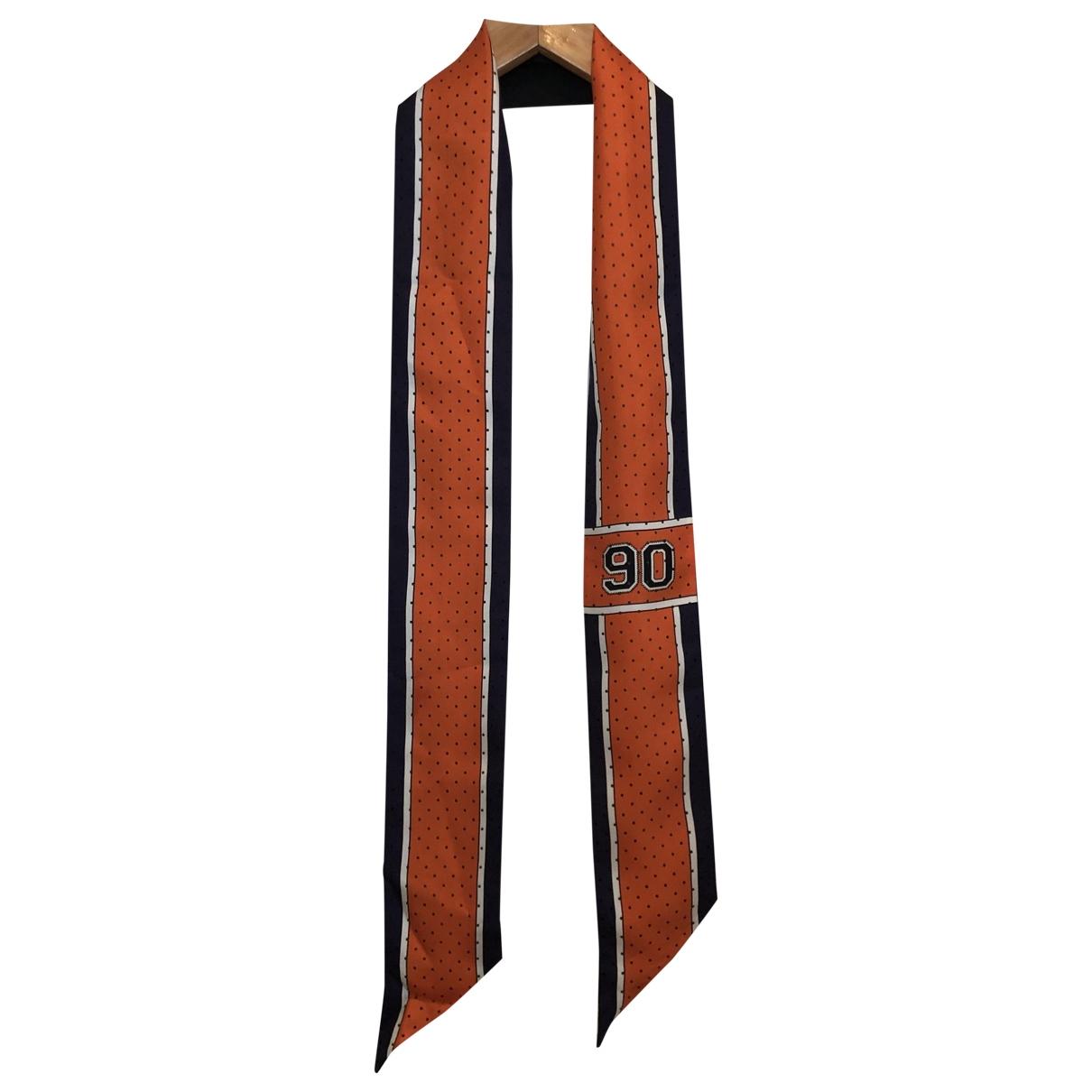 Furla \N Orange Silk scarf for Women \N