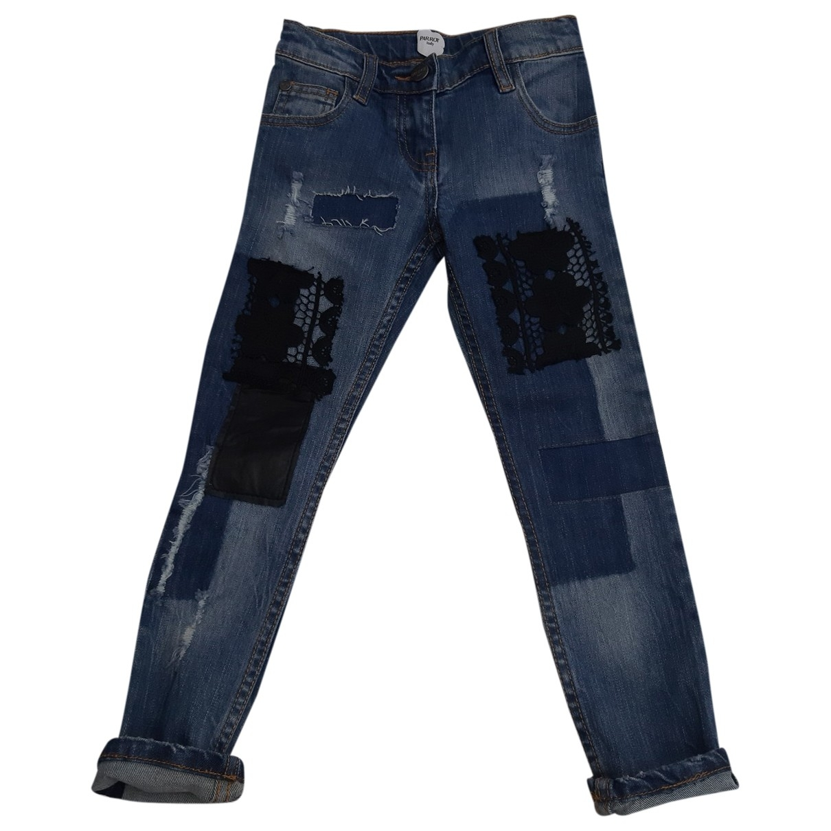 Parrot \N Blue Denim - Jeans Trousers for Kids 6 years - up to 114cm FR