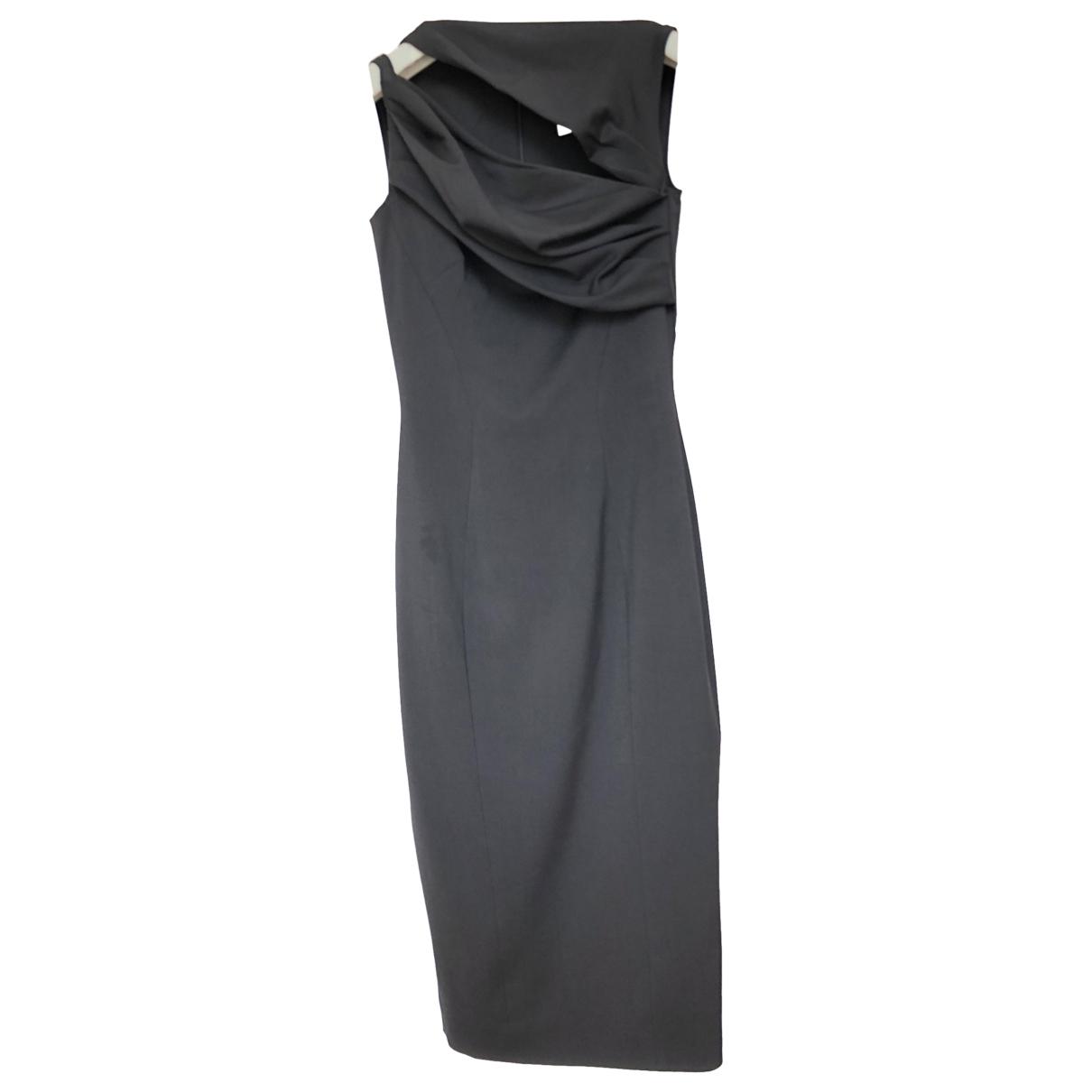 Dsquared2 \N Black Wool dress for Women 40 IT