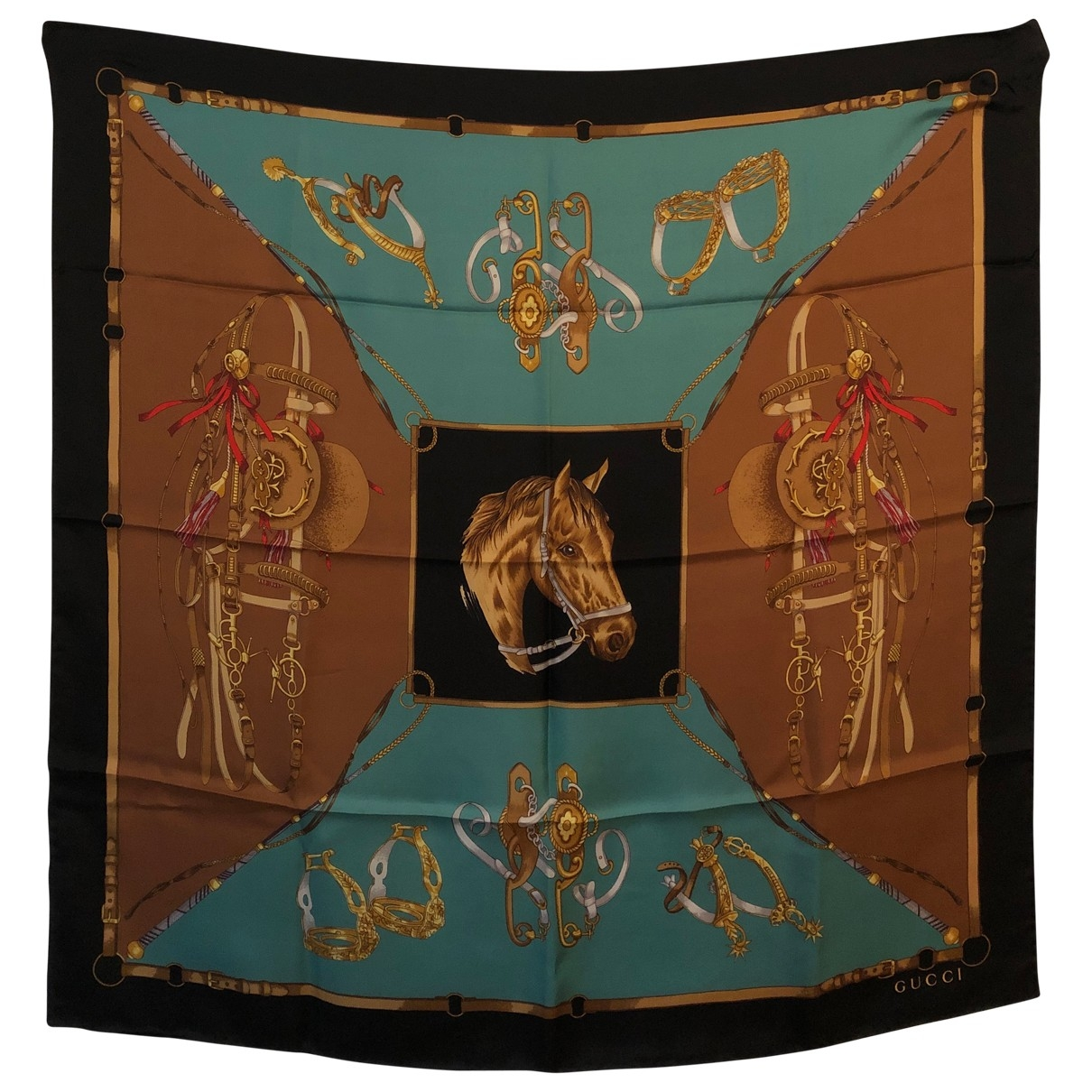 Gucci \N Multicolour Silk Silk handkerchief for Women \N