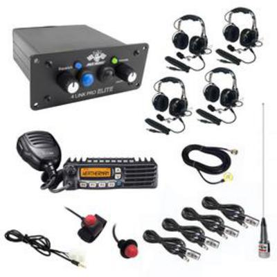 PCI Race Radios Ultimate 4 Seat Package with Bluetooth and DSP - 2496