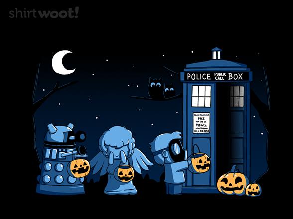 A Who Halloween T Shirt