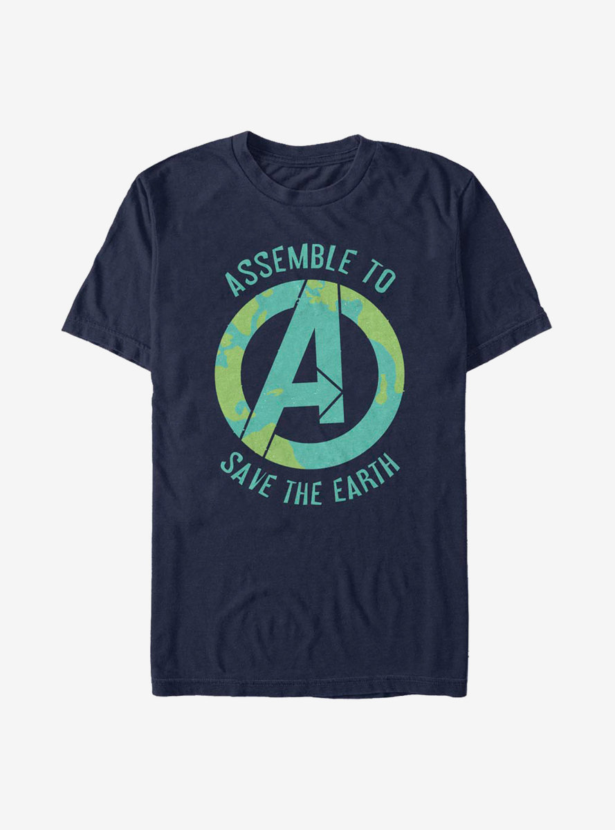 Marvel Avengers Assembling To Save T-Shirt
