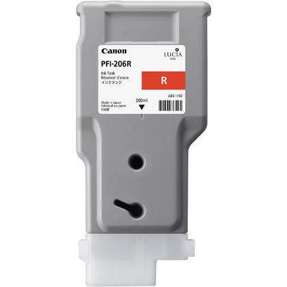 Canon PFI-206R 5309B001AA cartouche d'encre originale rouge