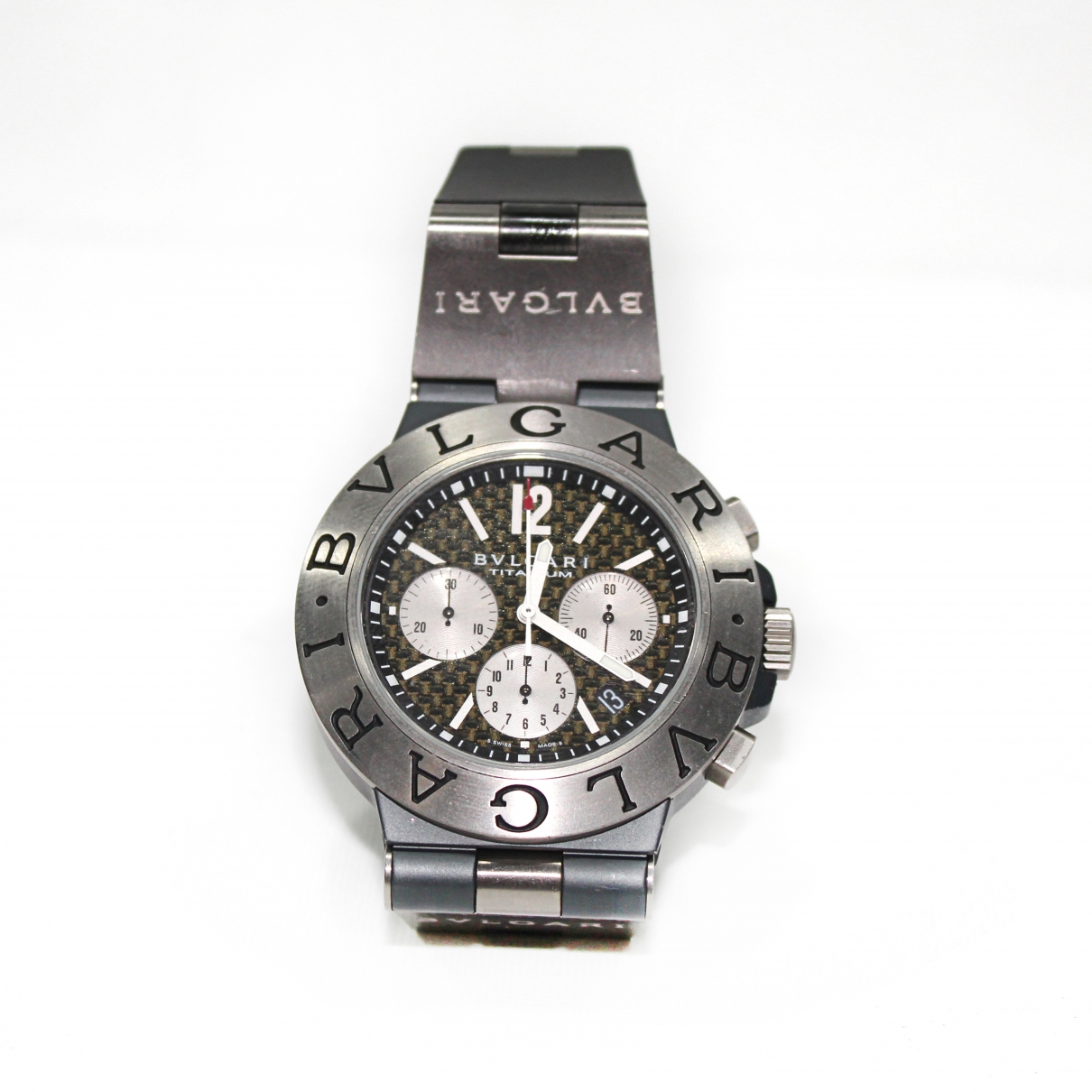Bvlgari Diagono Grey Titanium watch for Men \N
