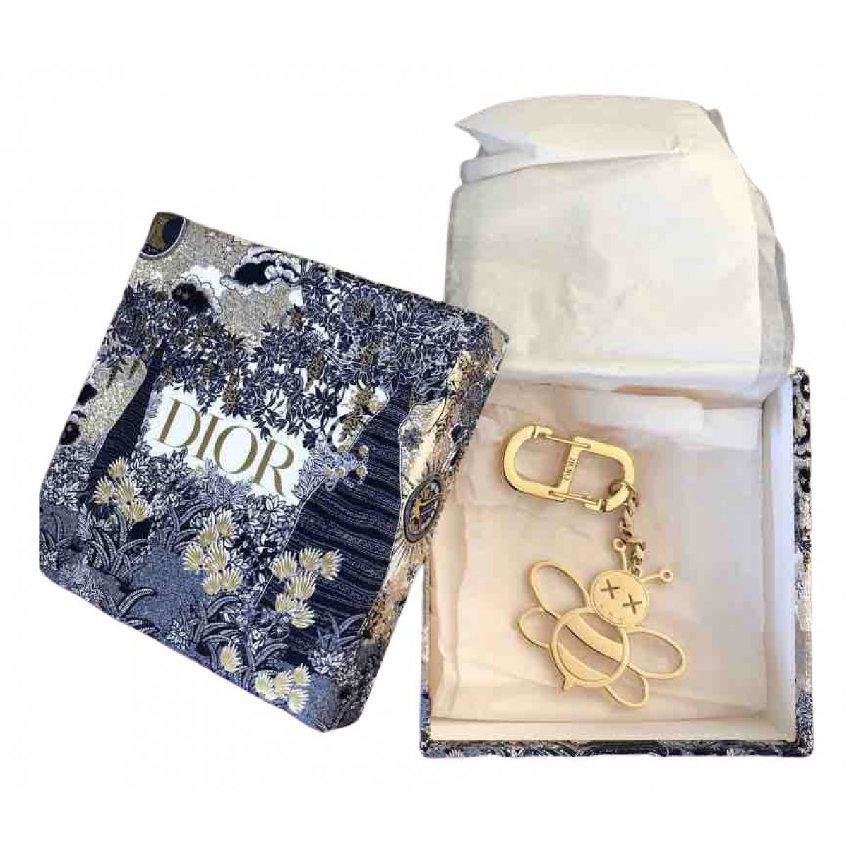 Dior \N Gold Purses, wallet & cases for Women \N